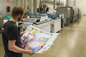 La impresión inkjet de última generación ya ha alcanzado en calidad al offset y en toda Europa se está iniciando un fuerte volcado de volúmenes