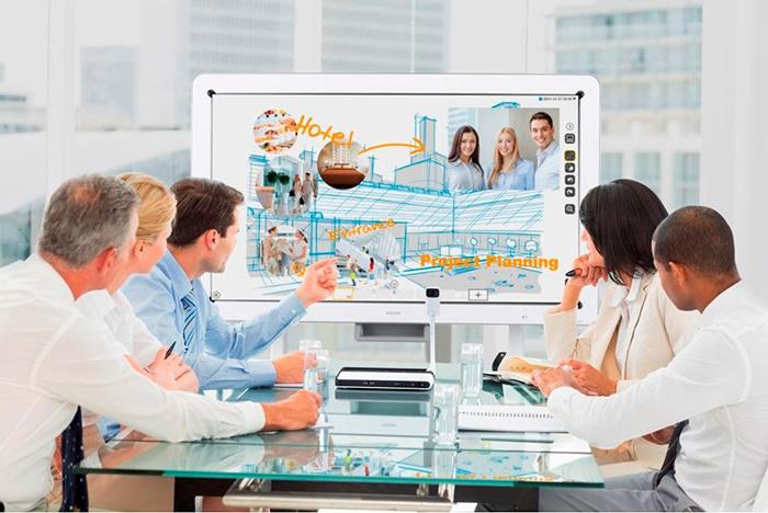 pantallas interactivas Ricoh